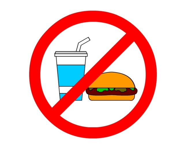 No Eating Sign